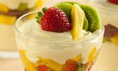 Receita de Salada de frutas cremosa - Culinária - MdeMulher - Ed. Abril