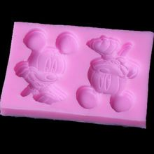 3D Relief Mice Cake Mold European Lovely Mickey Decorating Silicone Fondant Chocolate Mould Home DIY Baking & Pastry Tools(China (Mainland))
