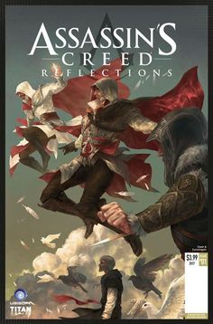 We're happy to announce that Titan Comics will be releasing a brand new mini-series on March 8, Assassins Creed Reflections!   Reflections will feature four stand-alone adventures starring some of our favorite Assassins: Altaïr, Ezio, Connor, and Edward!   For more information on how to order, head here: http://titancomics.tumblr.com/post/156089108432/legendary-assassins-creed-characters-return-in #assassinscreed #assassins #ubisoft #assassinscreedmovie #aguilardenerha #assassinscreed…