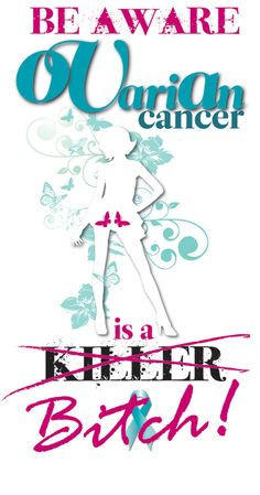 Ovarian cancer awareness poster #TopToBottom #WearTeal #Belabumbum