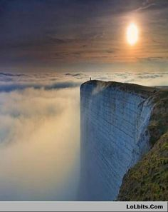 The edge of the world in England