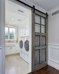 39 Perfect Laundry Room Designs Ideas For Small Space. Awesome 39 Perfect Laundry Room Designs Ideas For Small Space. The laundry room is considered to be the smallest room in the house and it is also very useful to […] Tiny Laundry Rooms, Laundry Room Doors, Laundry Room Layouts, Laundry Room Cabinets, Farmhouse Laundry Room, Laundry Room Organization, Small Laundry, Laundry Room Design, Basement Laundry