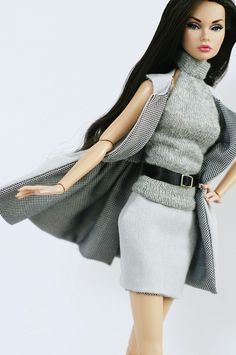 Raven-haired Poppy/FR doll