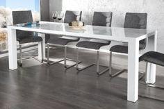 Esstisch/Tisch SPICE, weiß, Hochglanz, ausziehbar, 120/240x80cm DES http://www.amazon.de/dp/B008FKDOI2/ref=cm_sw_r_pi_dp_lxyYtb10GNHM2W8Q