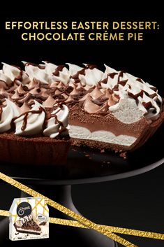 Pick up Edwards Hershey's Crème Pie for Easter in the frozen dessert aisle. Easter Recipes, Holiday Recipes, Easter Food, Easter Dinner, Easter Brunch, Easter Treats, Recipes Dinner, Diabetic Recipes Crockpot, Easy Steak Recipes
