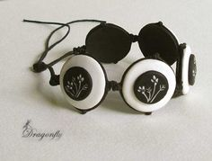 Russian Blog...decorating by Dragonfly. Love this black and white creation!