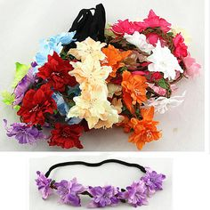 2015 new style girl hair accessories, baby headband, sequins butterfly flower headband, elastic hair bands
