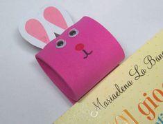 Pasqua: lavoretti per bambini della scuola primaria - Segnalibro coniglietto
