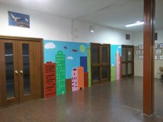 Colegio pasillo