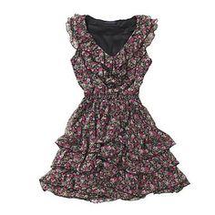Multi coloured ditsy tea dress - Day dresses - Dresses - Women -