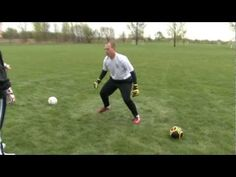 Soccer Goalkeeper Dive Training Part 4