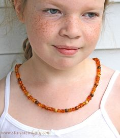 Baltic Amber Necklace Baby thru Adult sizes. by stargazinglily