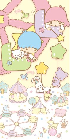 Little Twin Stars ☆*:.。. o(≧▽≦)o .。.:*☆