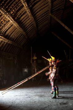 Etnia Kuikuro/ Parque Indigena do Xingu Mais