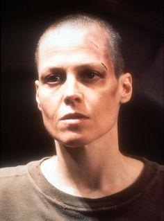 Sigourney Weaver en Alien 3, 1992