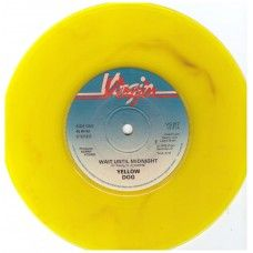 """7"""" 45RPM Wait Until Midnight/Down At The Vortex by Yellow Dog from Virgin Records (VS 217)"""
