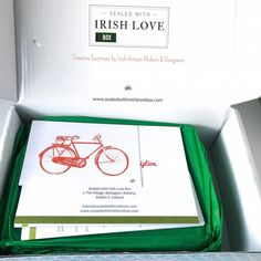 Sealed With Irish Love open box 1 Love Box, Seal, How To Find Out, Ireland, Irish, Stationery, Stationeries, Stationery Shop, Irish People