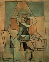 Pablo Picasso - Still-Life, 1919 Pablo Picasso Artwork, Picasso Cubism, Picasso Paintings, Oil Paintings, Malaga, Pigeon, Picasso Still Life, Cubist Movement, Paint Designs