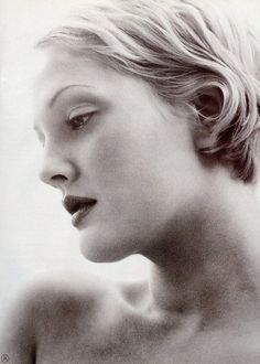 Drew Barrymore by Herb Ritts