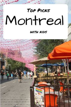 Montreal. One of the few cities that even the geographically challenged can point out as Canadian. Multicultural entertainment hub of the north.