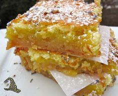 Protein Lemon-Bars