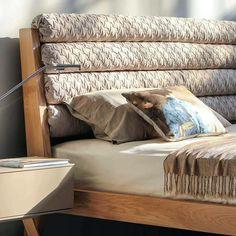 Solid Oak, Bedroom Design, House Design, Bed Design, Bed, Bed Pillows, Furniture, Interior Design, Home Decor