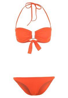 barcelona bikini orange melissa odabash #bandeaubikini #melissaodabash