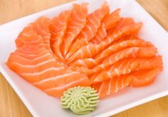 Salmon sashimi *salivate*. So much more delicious before you cook it.