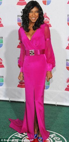 Singer Natalie Cole