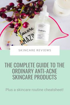 I lost count of how many of you have emailed me in the past few months asking me how to use The Ordinary anti-acne products.I get it. They're so cheap, you want to get ALL of them. And then you end up with a 10 steps routine that takes all morning to put on! So here's my quick guide to The Ordinary anti-acne skincare products will help you figure out what products you need, when to use them and how to fit them into your skincare routine... #theordinary #acne #skincareroutine The Ordinary Acne, Acne Products, How To Get Rid Of Acne, How To Treat Acne, Salicylic Acid, Acne Prone Skin, Skincare Routine, Count, Skin Care