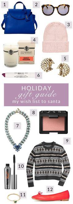 Holiday Gift Guide - My Wish List To Santa - Poor Little It Girl - @poorlilitgirl