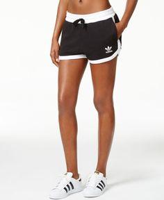 f4a86ffe7b adidas Originals French Terry Running Shorts Athletic Shorts