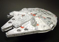 PAPERMAU: Star Wars Millennium Falcon Paper Model - by SF Pa...
