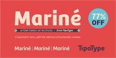 Font dňa – Mariné (zľava 77%, od 3,22€, rodina 20,93€) - http://detepe.sk/font-dna-marine-zlava-77-od-322-e-rodina-2093-e/