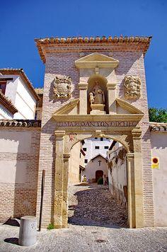 Grenade - Granada 465 El Albaicin, Calle de Santa Isabel La Real