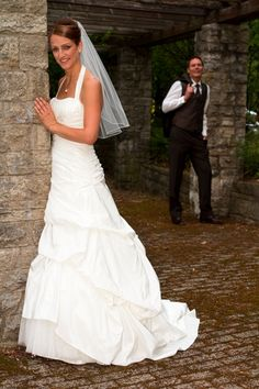 Hochzeit Fotoshooting Brautpaar Portrait II
