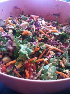 Crunchy Cashew Thai Salad (Vegetarian)