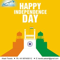 Happy Independence Day.. Independence Day Poster, 15 August Independence Day, Creative Poster Design, Creative Posters, Festival Flyer, Sacred Symbols, Honeymoon Destinations, Creative People, Design Process
