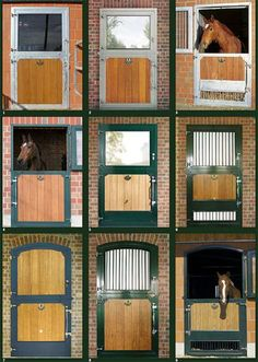 SCOUTED: These beautiful Röwer & Rüb stall doors are available for purchase through @KaiserBuilds  equine stable  #equestrian