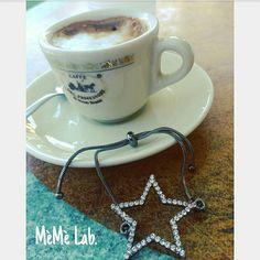 Caffè & nuova collezione  bracciali MèMè Lab. www.memelabaccessori.com  #goodmorning #goodmoments #buongiono #buongiornocosì #memelabcreazioni #memelab #memelabaccessori #accessori #bijoux #jewelry #stella #star #caffè #caffedelprofessore #napoli #torredelgreco #styleoftheday #styleblogger #bloggers #tweetgram #iltopdeltop #amazing #tbt #shopping #cool #goodtime #photography #photographer