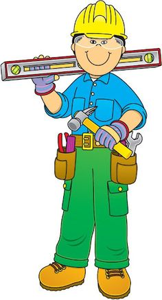community workers cartoon Pin by Annelies Derveaux on Huizen Under Construction Theme, Construction Worker, Construction Cost, Community Workers, School Community, People Who Help Us, Community Helpers Preschool, Clip Art Pictures, School Clipart