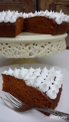 Violettaságok: Sütőtökös süti Tiramisu, Pie, Cookies, Ethnic Recipes, Food, Torte, Crack Crackers, Cake, Fruit Cakes