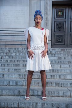 The Caped Dress of the Multifaceted Range by @Up_phelele  📸 by Fertographer.com   #Up_phelele #Fashion #FashionShoot #Photoshoot #FashionPhotography #Women #LadiesWear Fashion Shoot, Fashion Photography, Women Wear, White Dress, Range, Photoshoot, Dresses, Vestidos, Cookers