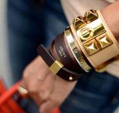 Celine bracelets! I want!!!