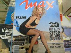 Max mai 1993 Kim basinger spécial Nice cannes jason priestley marceau bruel