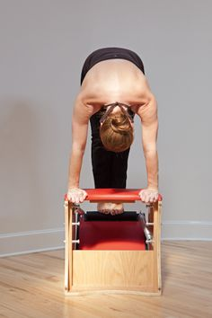 pilates - pull-ups on the wunda chair