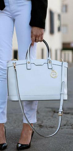 Henri Bendel Satchel #TARTCollections his bags are so much better than Michael Kors and coach!!