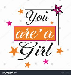 Star Print, Slogan, Girl Fashion, Stars, Modern, Girls, Prints, Image, Design
