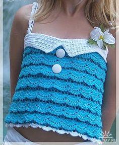 Marcinha crochê: roupas de bebês