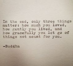 """""""how gracefully you let go of things not meant for you..."""""""